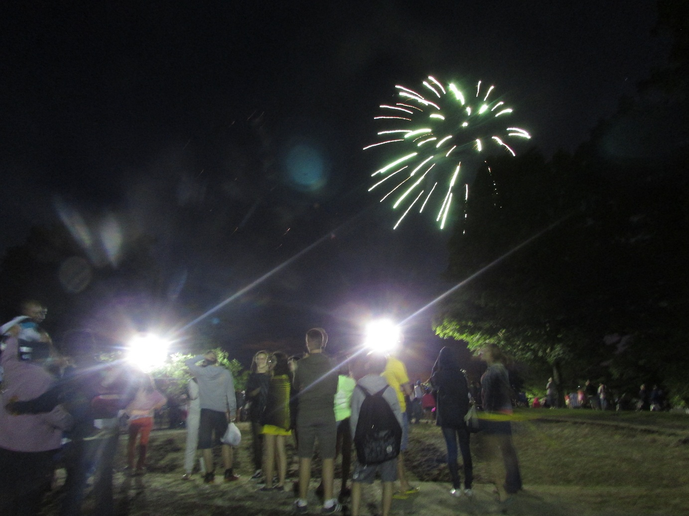 Queima de fogos - 04 de julho