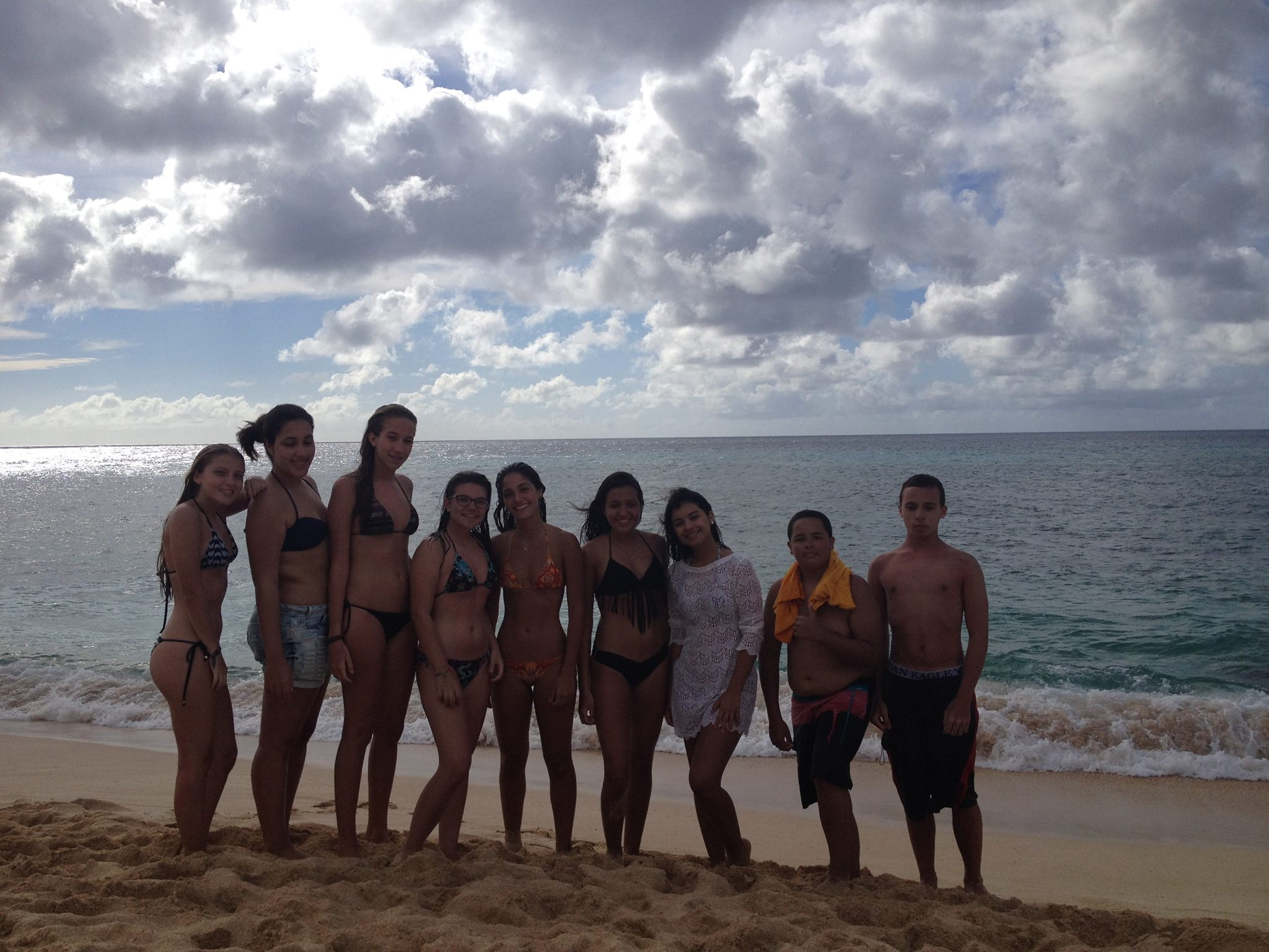 Group at Pipeline