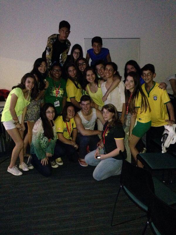 foto do jogo do Brasil