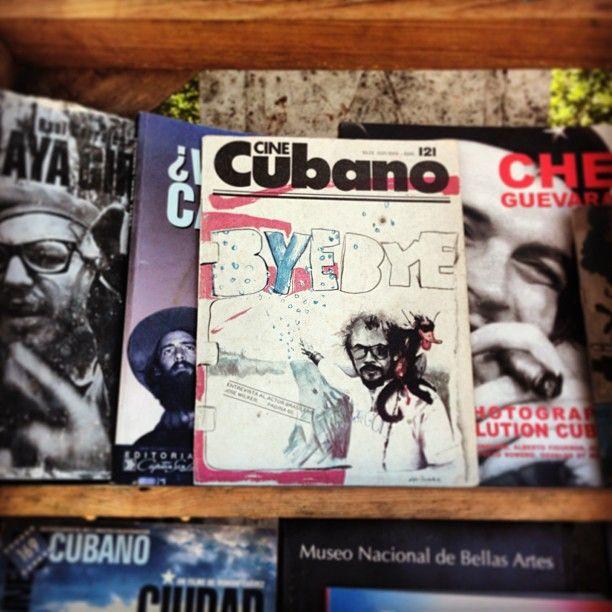 Olha quem eu encontrei na feira em Havana... #zéwilker Foto: Nanda Costa / Instagram