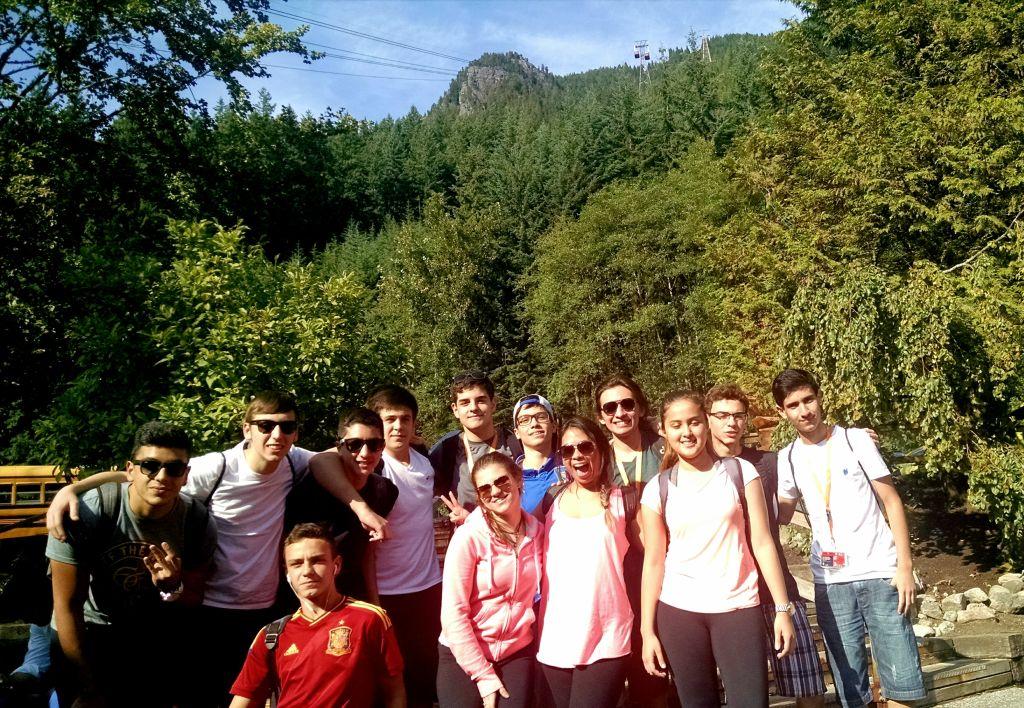 Nosso pessoal Fitness que encarou a trilha ingrime de 3km pela floresta. UHUL!