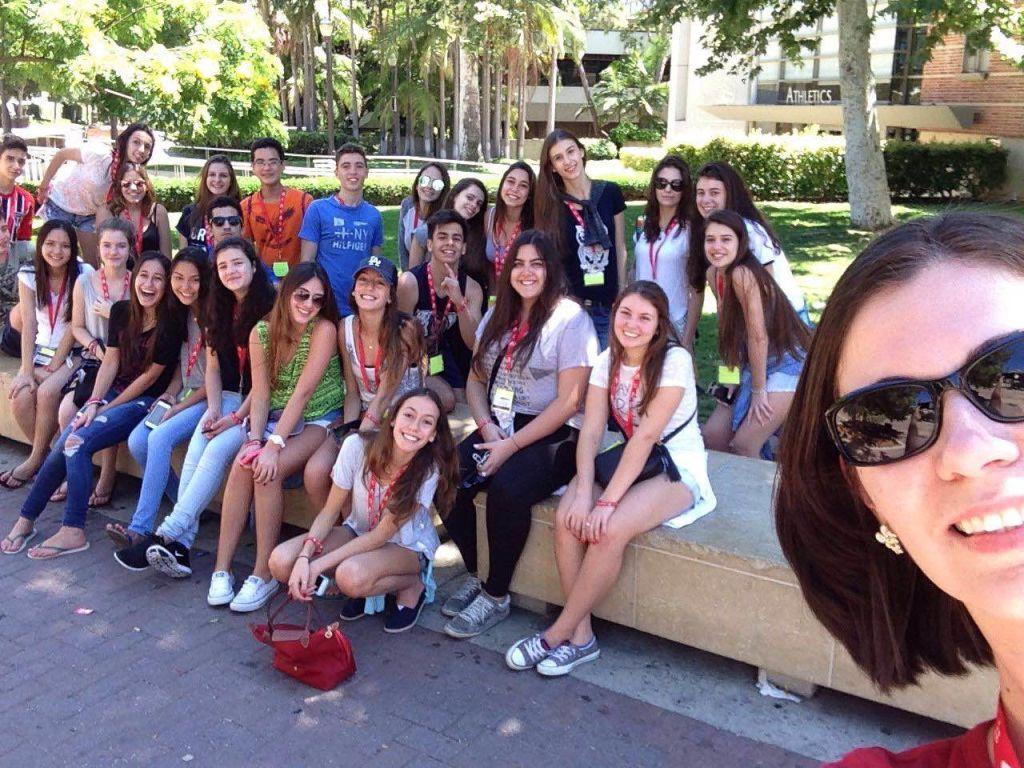 Grupo todo + eu! rs