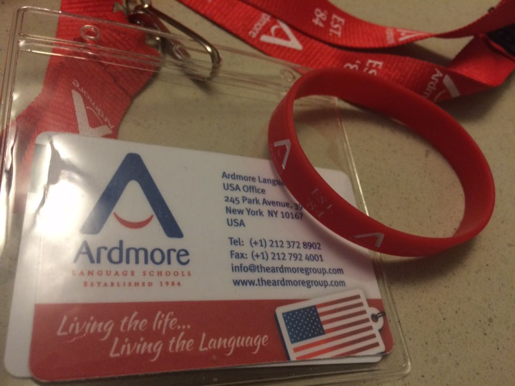 Ardmore wristband and Nametag