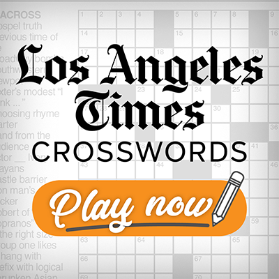 LA Times Sunday Crossword