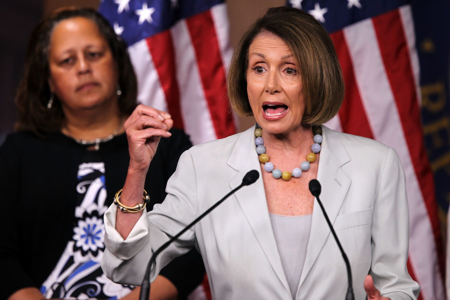 Deputada democrata Nancy Pelosi. Foto:Alex Wong/Getty Images/AFP