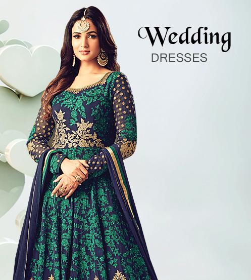 Buy Indian Dresses Online, Pakistani Wedding Clothing