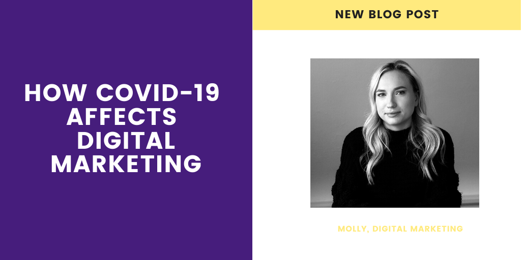 How Covid-19 affects Digital Marketing