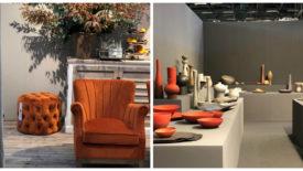 Se você quer apostar em cores na sua decoração, vá de laranja ou verde. Confira outras tendências da Maison & Objet que aconteceu em Paris.