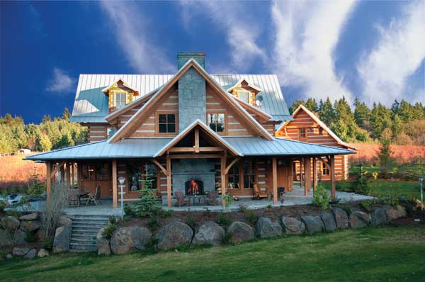 Dream Deferred An Appalachian Style Log Home In