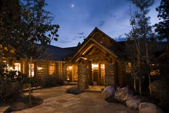 Rocky Mountain Log Home