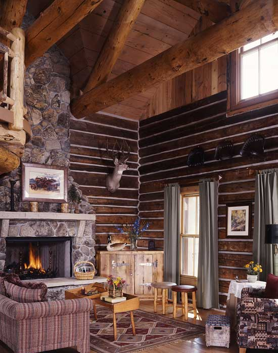 Rustic Great Room