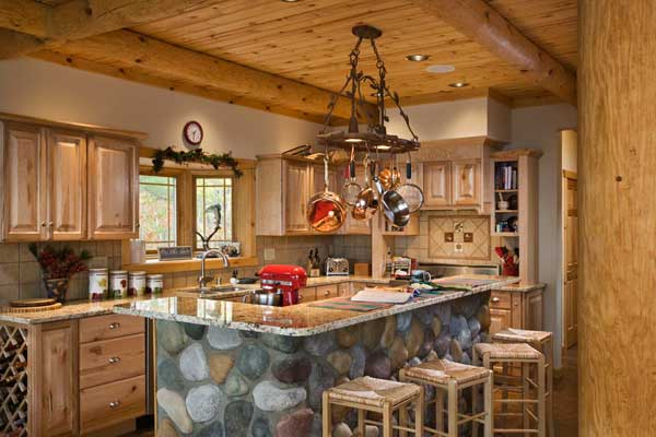 CABIN DESIGN KITCHEN LOG | KITCHEN SITE