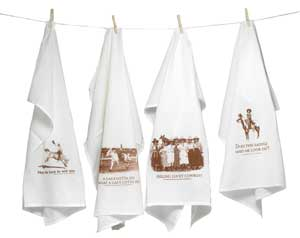 Cowgirl Flour Sack Towels