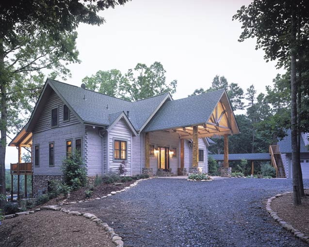 Barna Log Homes of Georgia | Log Cabin