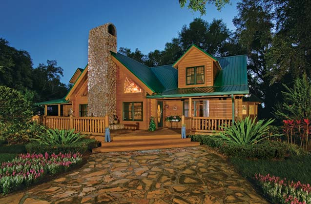 Log Home And Garden Suwannee River Log Homes Log Cabin Home And