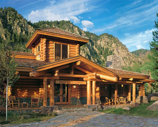Affordable luxury for log homes 12 ways to add luxury to Luxury log home plans