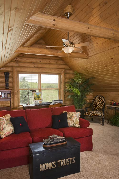 Rustic iowa log home photos by expedition log homes for Www loghome com