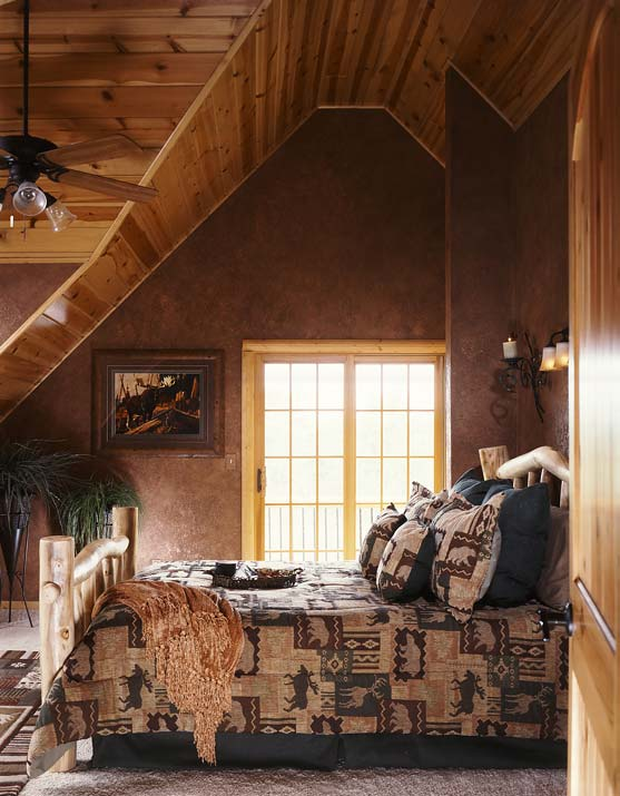 Photos Of A Modern Log Cabin Golden Eagle Log Homes