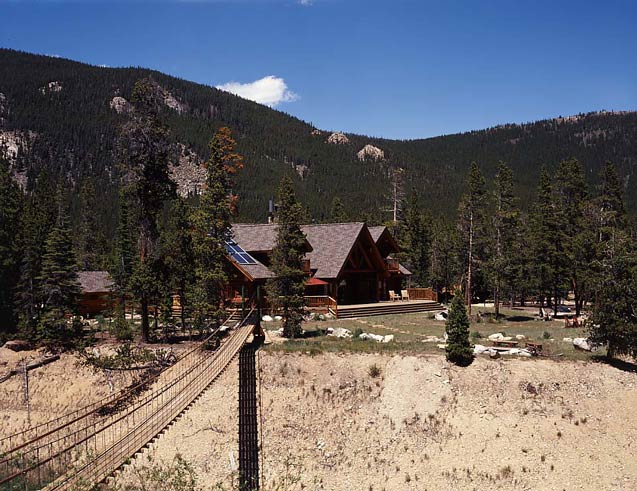 Mountain State Log Homes | Log Home on a Mountain