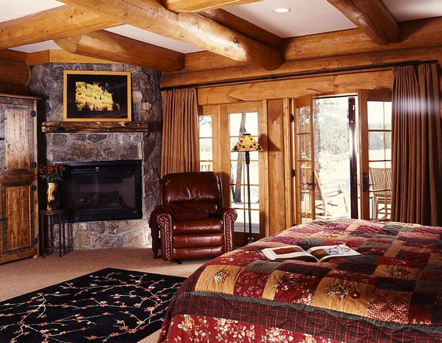 Secluded Colorado Log Cabin Photos