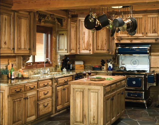 Affordable luxury for log homes 12 ways to add luxury to Cabin kitchen decor