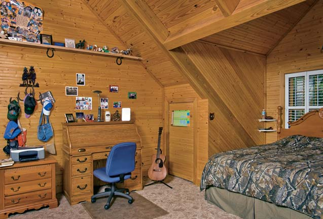 Childu0027s Cabin Bedroom | Suwannee River Log Homes