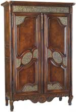 Antique-style armoire