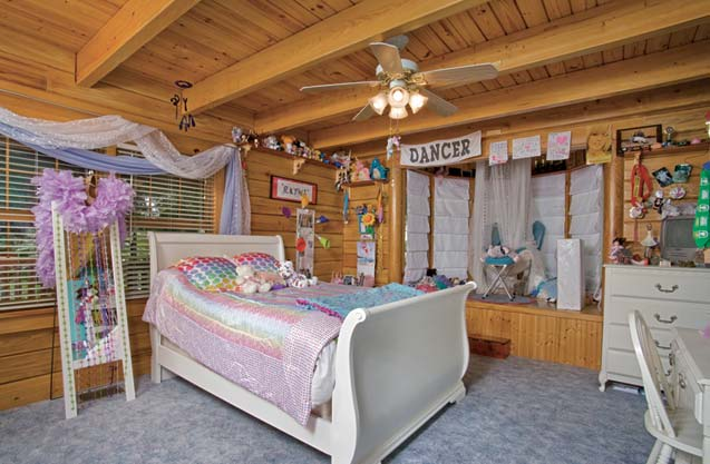 Photos of a custom log home in rural florida for The girl in the cabin