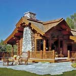 2008 small log home design contest