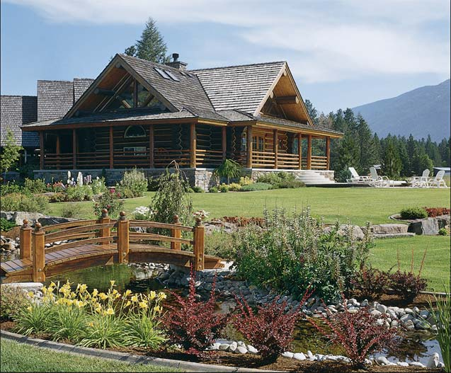 affordable luxury for log homes 12 ways to add luxury to