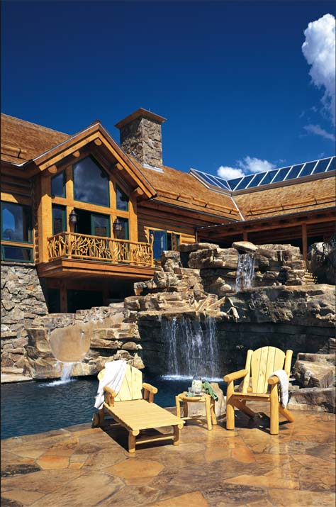 Outdoor Space | Luxury Cabin Pool