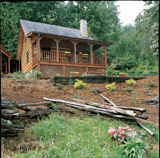Rustic Cabin Designs - Yellowstone Log Homes LLC.