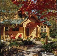 2004 October Log Home Living Cover Home