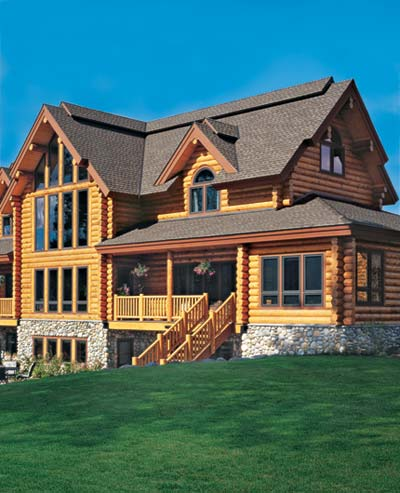 July 2006 Log Home Living Cover
