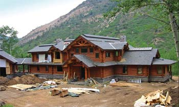 Building a Log Home