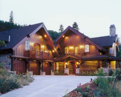 Edelweiss 4th place log home floor plan design contest for Alpine home design