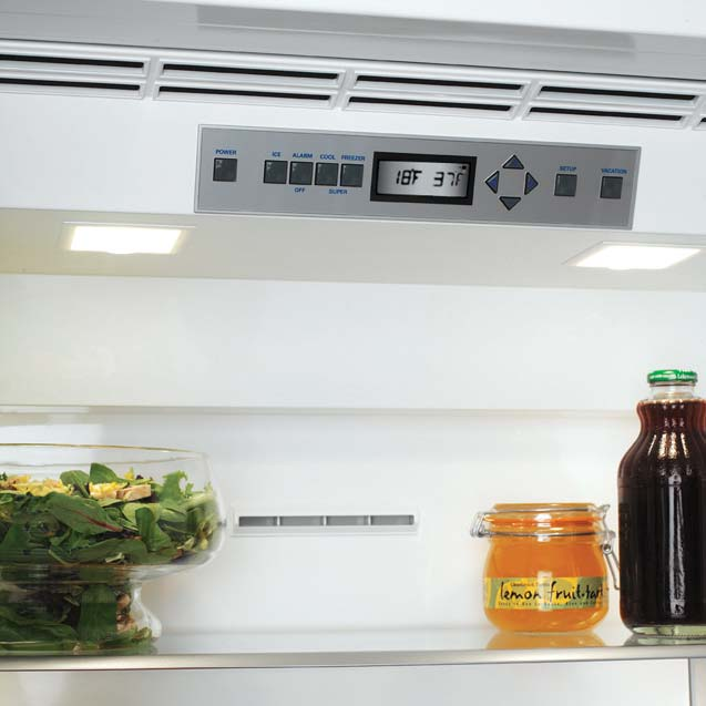 Refrigerator Temperature Controls