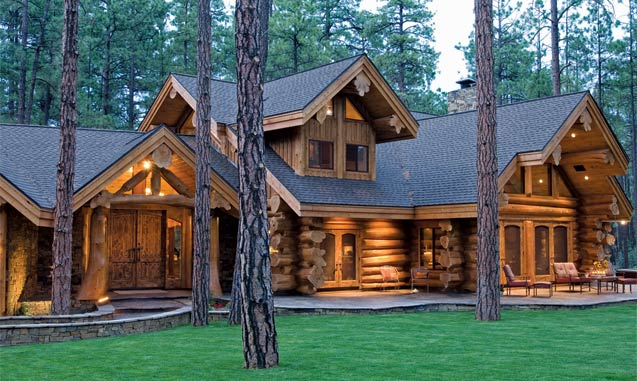 Handcrafted Log Home In Arizona By Summit Log Homes