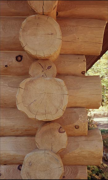 handcrafted logs