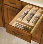 Shenandoah Cabinetry cutlery divider kit