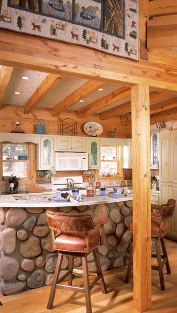 Creative Cabin Kitchen Ceiling