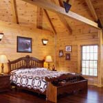Kuhns Bros. Log Homes | Creative Master Suite