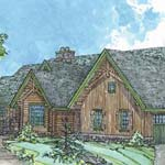 Rocky Mountain Log Homes | The Willow