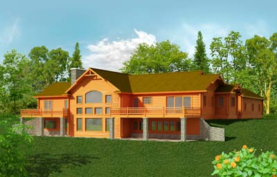 Emmons Creek | Strongwood Log Homes
