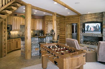 7 Tips For Planning And Building Your Log Home Basement