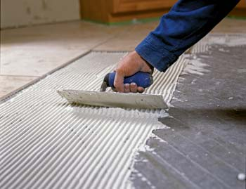 Tile Prepwork | Nuheat Photo