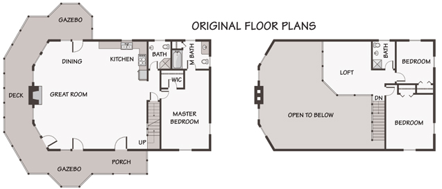 Customization From Standard Floor Plan to Cozy Chalet – Chalet Home Floor Plans