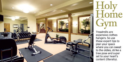 Holy Home Gym Designing A Home Workout Space
