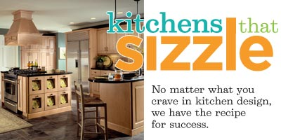 kitchens that sizzle