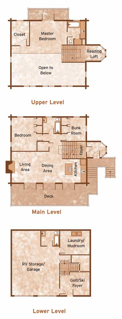Tahoe by Alpine Floorplan